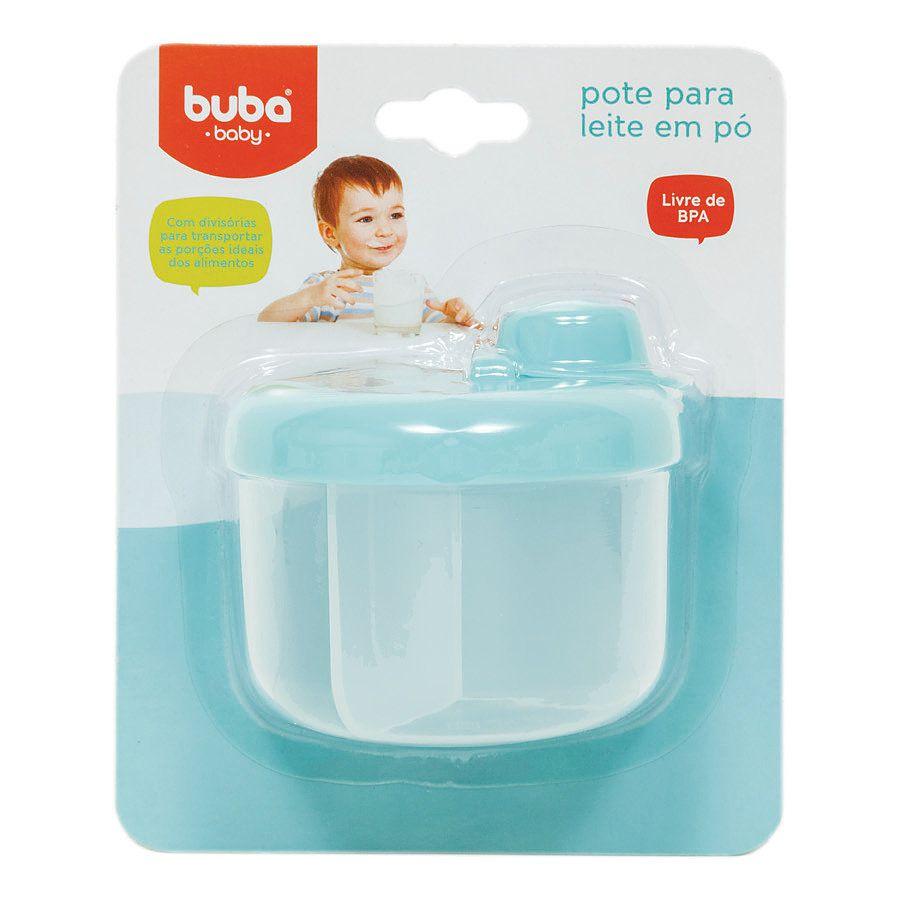 Pote para Leite em Pó Azul - Buba Baby