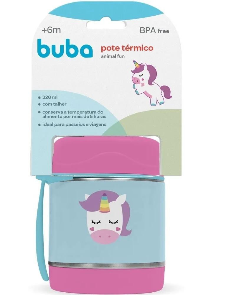 Pote térmico Animal Fun Unicórnio - Buba Baby