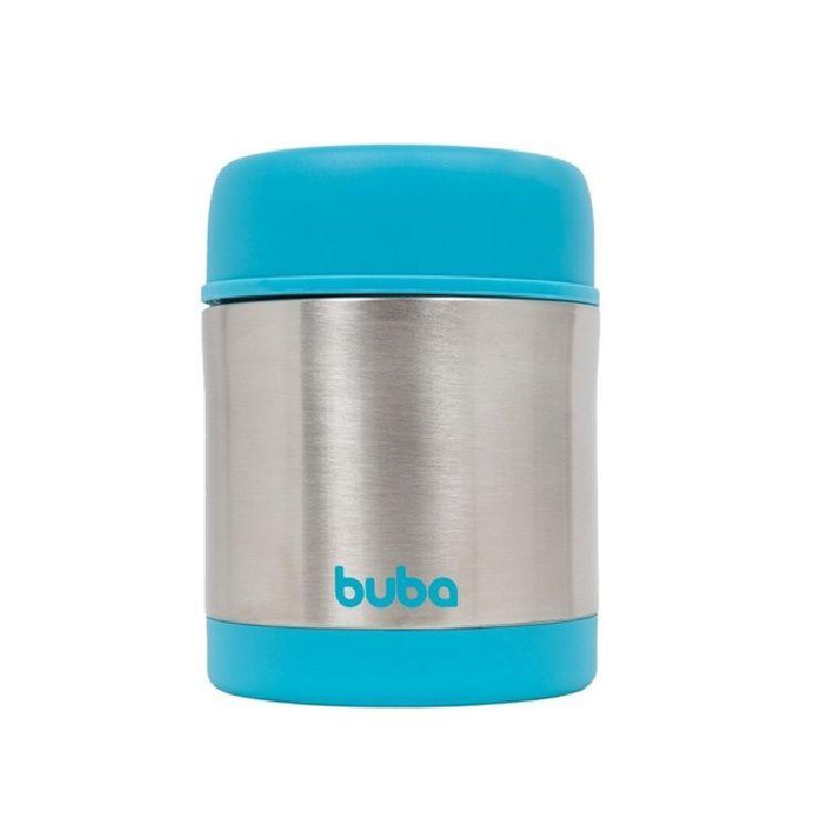Pote térmico Inox Azul - Buba Baby