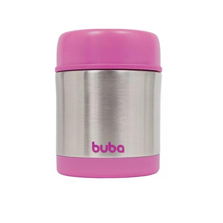 Pote térmico Inox Rosa - Buba Baby