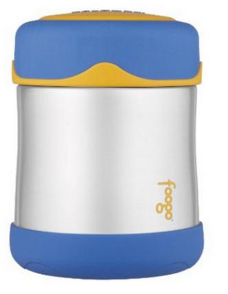 Pote Thermos Foogo - 290ml Azul e Amarelo
