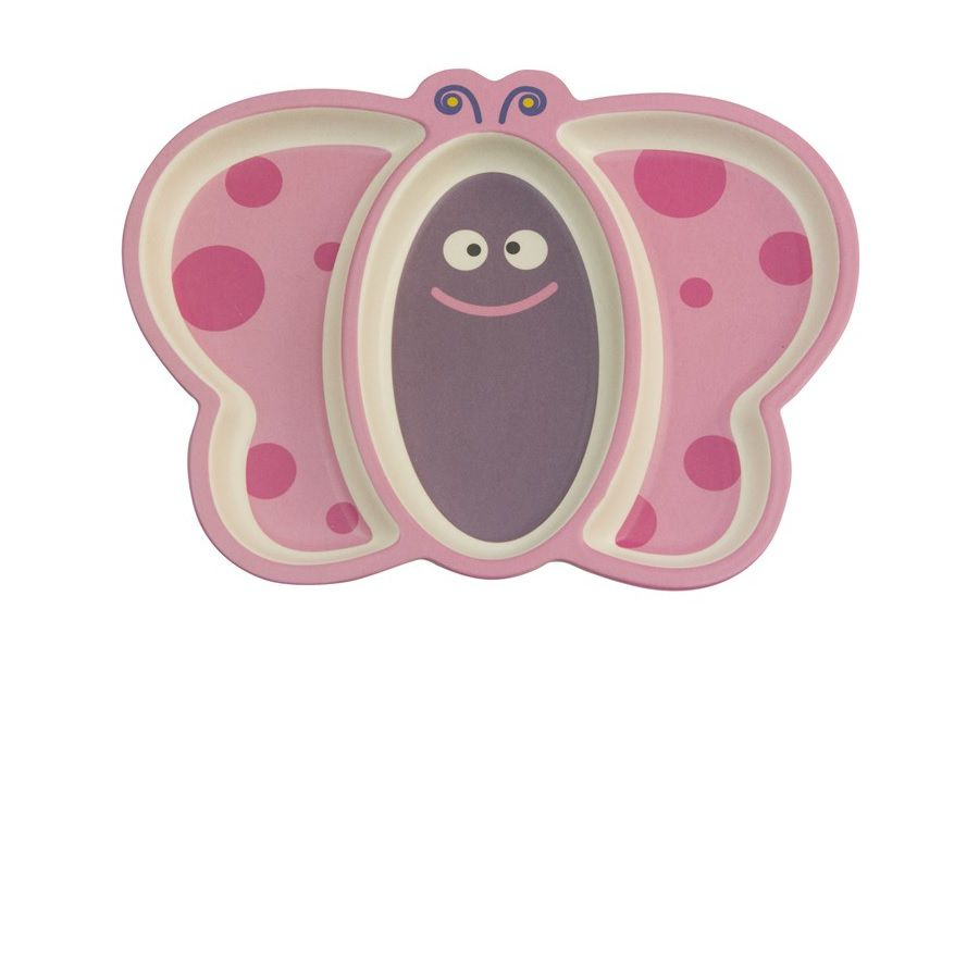 Prato com Divisórias Eco Borboleta - Girotondo Baby