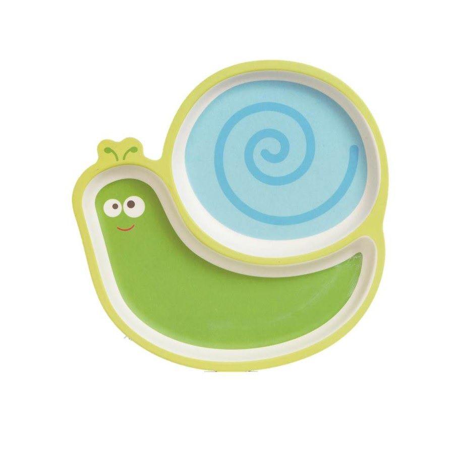 Prato com Divisórias Eco Caracol - Girotondo Baby