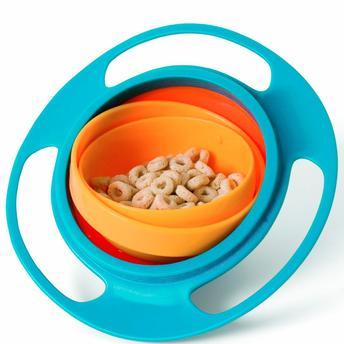 Prato giro bowl azul - Buba Baby