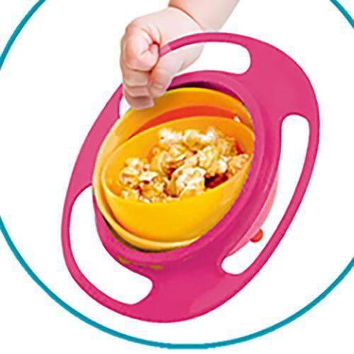 Prato giro bowl rosa - Buba Baby