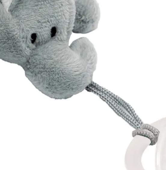 Prendedor de Chupeta Meu Elefantinho - Buba