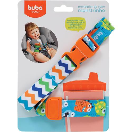 Prendedor de Copos Monstrinhos - Buba Baby