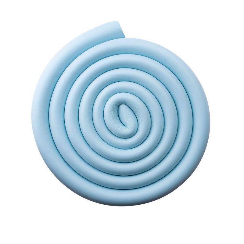 Protetor Borda de Vidro Formato U Azul - Comtac Kids