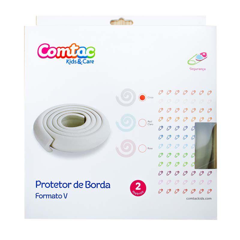 Protetor Borda Formato V Cinza - Comtac Kids