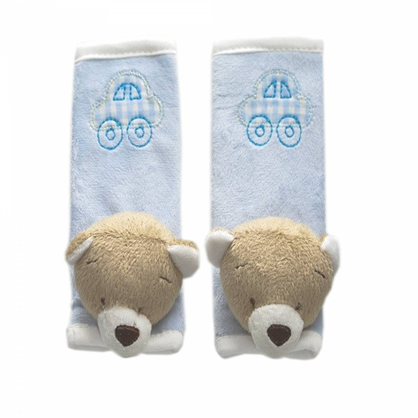 Protetor de Cinto Urso Nino Azul - Zip Toys