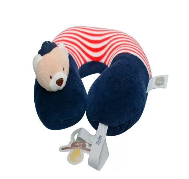 Protetor de Pescoço Zip Toys - Urso Marinheiro