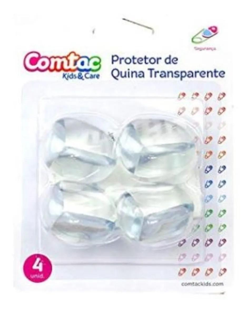 Protetor para Quina Transparente - Comtac Kids