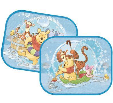 Protetor Solar duplo para carros - Ursinho Pooh e Tigrão