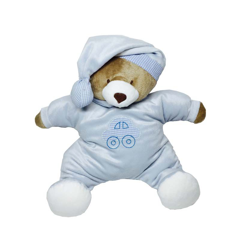 Puffy Ursinho Nino Azul - Zip Toys