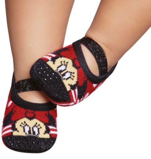 Puket meia sapatilha Disney Minnie Mouse - Vermelha