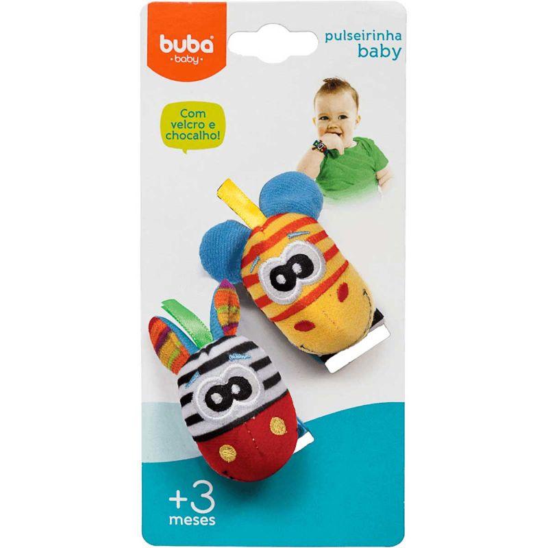 Pulseirinha Baby Girafinhas - Buba Baby