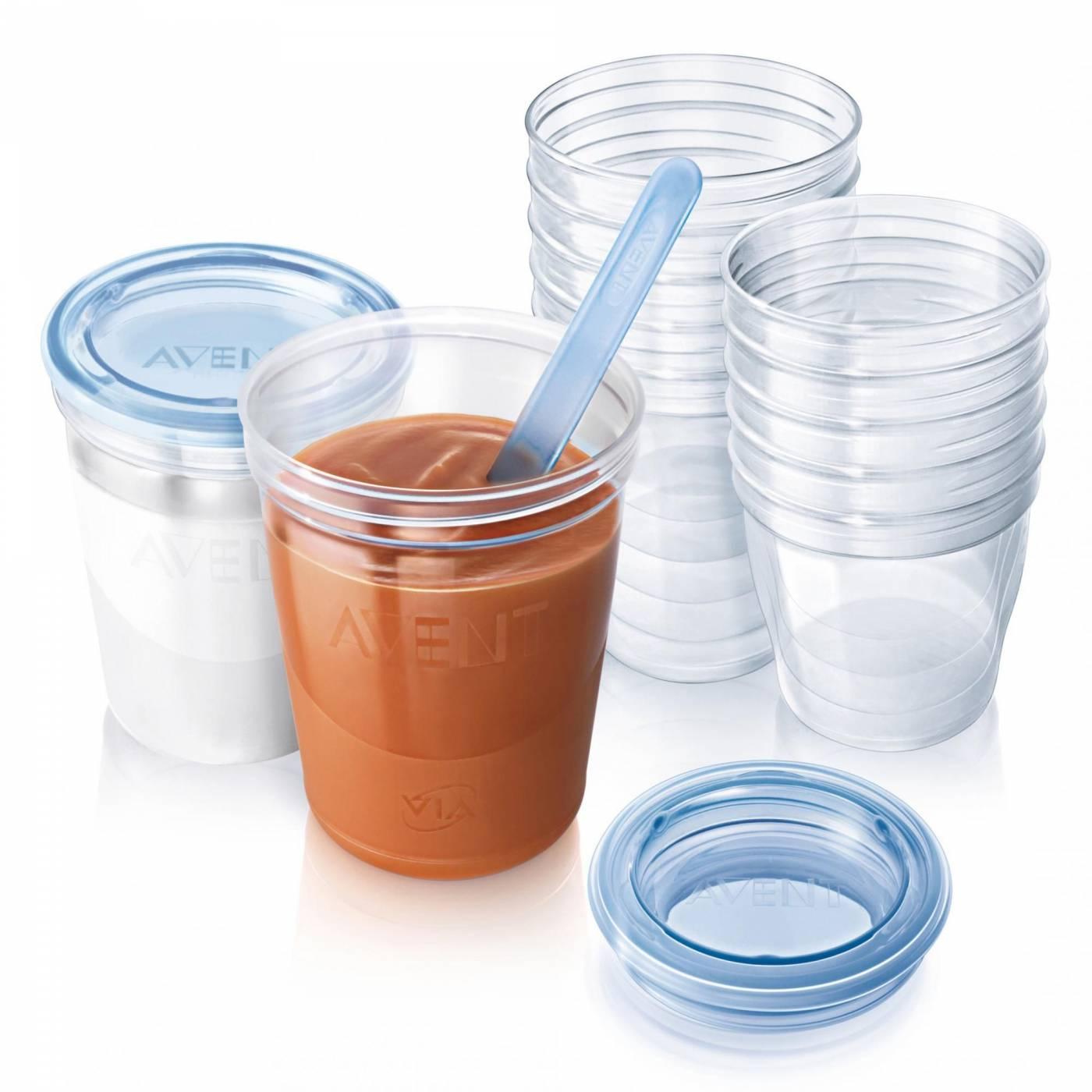 Recipiente para Alimentos e Leite Materno - Philips Avent