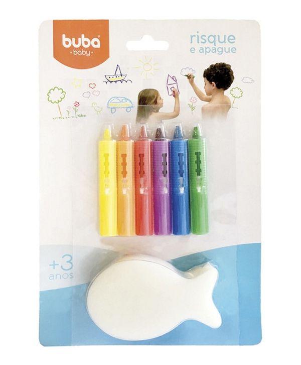 Risque e Apague com Esponja - Buba Baby
