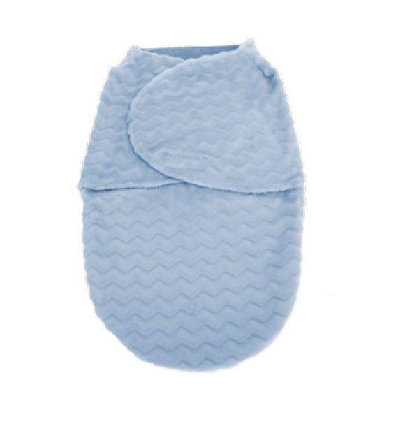 Saco de Dormir Baby Super Soft Azul - Buba Baby