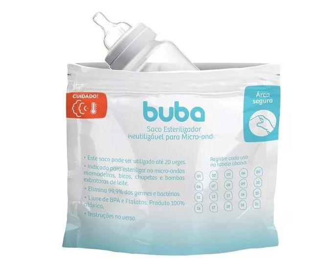 Saco Esterilizador Para Microondas - Buba Baby
