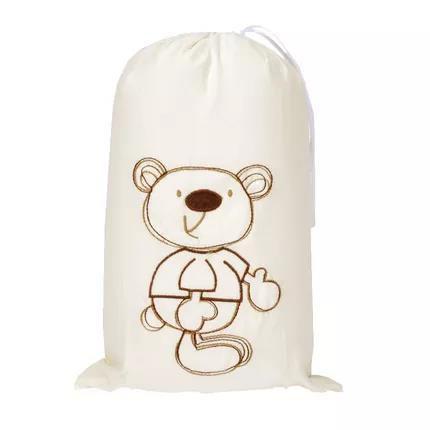 Saco Para Roupas Impermeável Baby Creme - Zip Toys