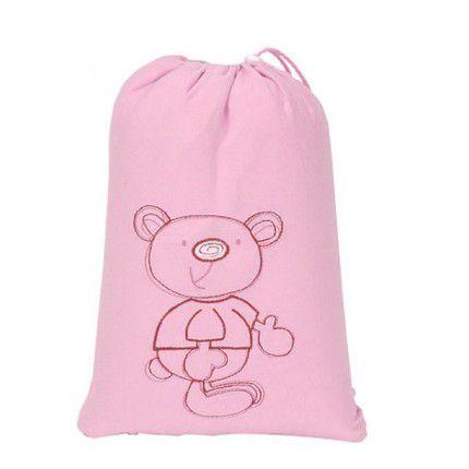 Saco Para Roupas Impermeável Baby Rosa - Zip Toys