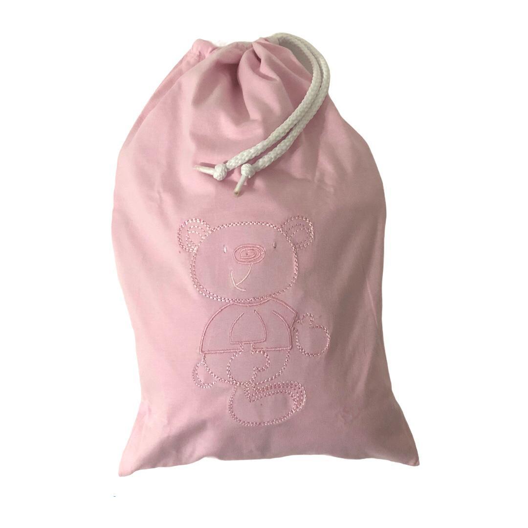 Saco Impermeável Para Roupas Molhadas Baby Rosa - Zip Toys