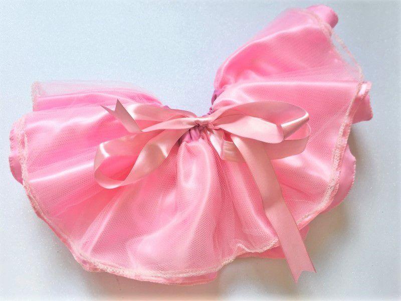Saia Tutu cintura ajustável rosa - Minha Estrelinha