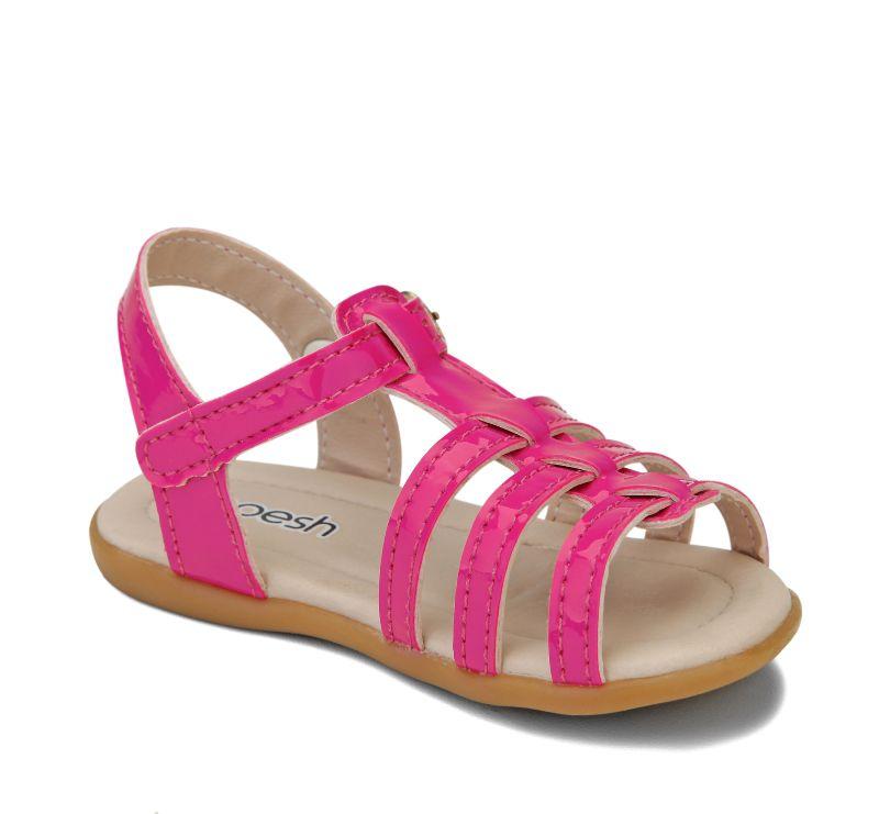 Sandália em Tiras Pesh - Pink
