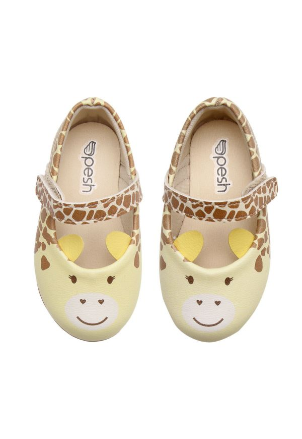 Sapatilha Pesh Girafinha - Amarelo