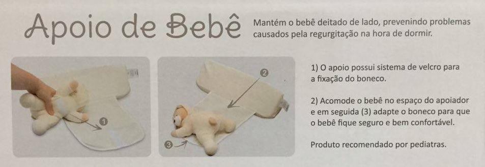 Segura Bebe - Zip Toys - Creme (Urso)