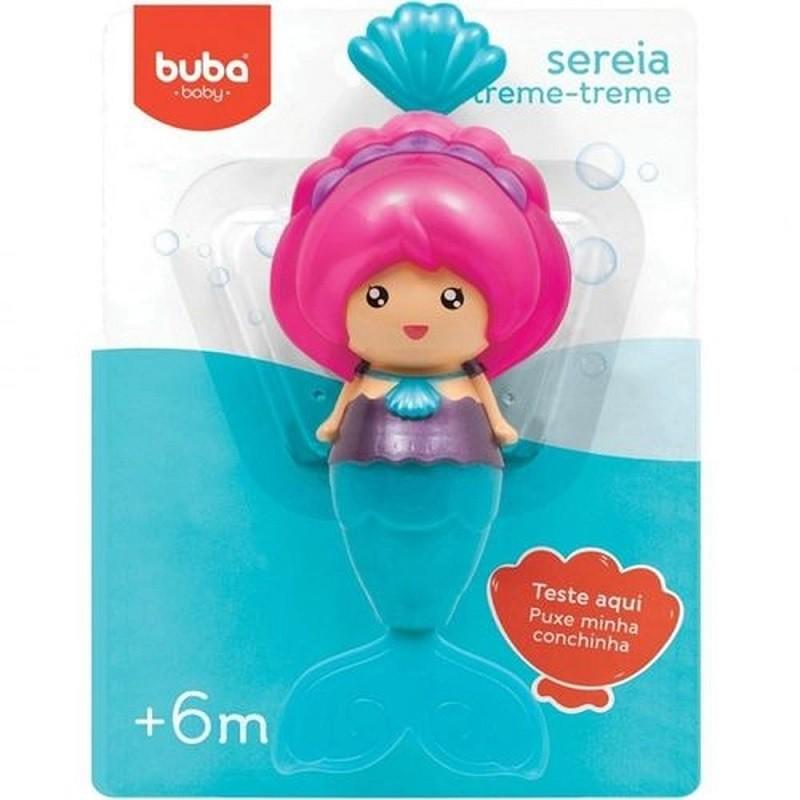 Sereia Treme Treme de Banho - Buba Baby