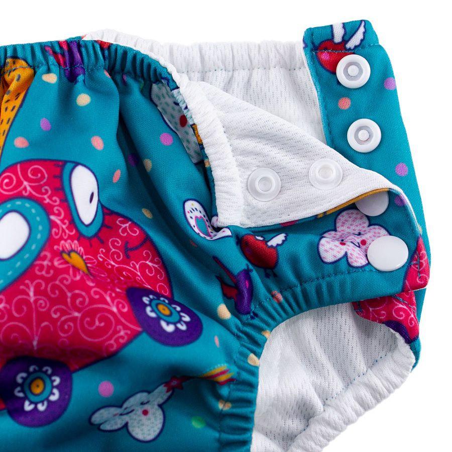 Sunguinha com Fralda Reutilizável Urso Baby - Comtac Kids
