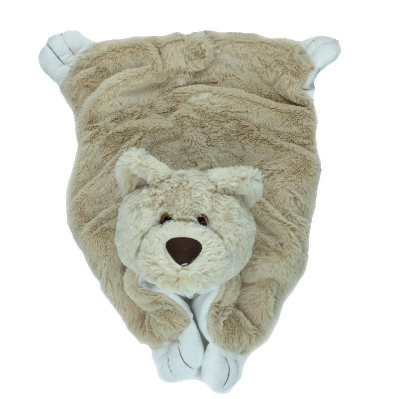 Tapete Fofinho Infantil - Urso Bege - Zip Toys