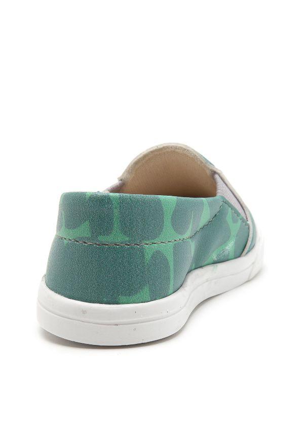 Tênis Infantil Slip On Jacaré Verde - Pesh