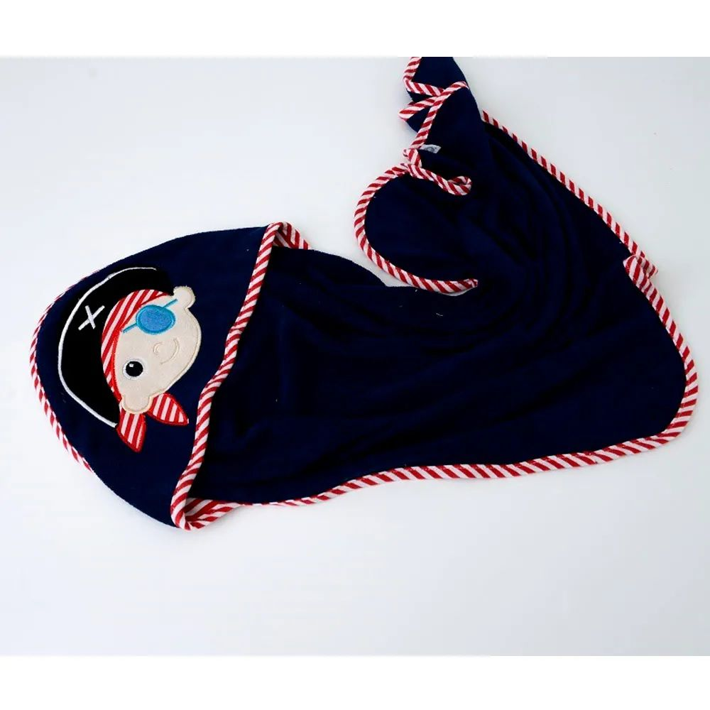 Toalha de Banho Pirata Com Capuz - Zip Toys