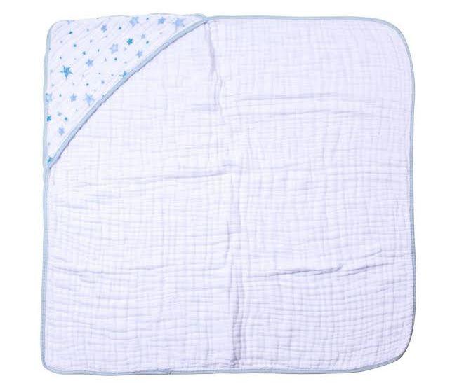 Toalha Soft Fralda Celeste Azul - Papi Baby