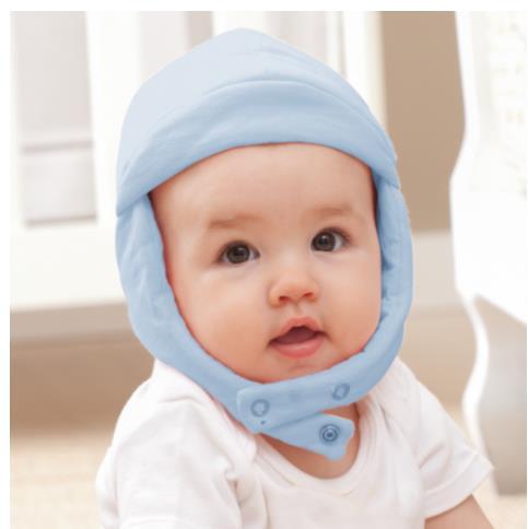 Touca em Malha Infantil Azul - Zip Toys