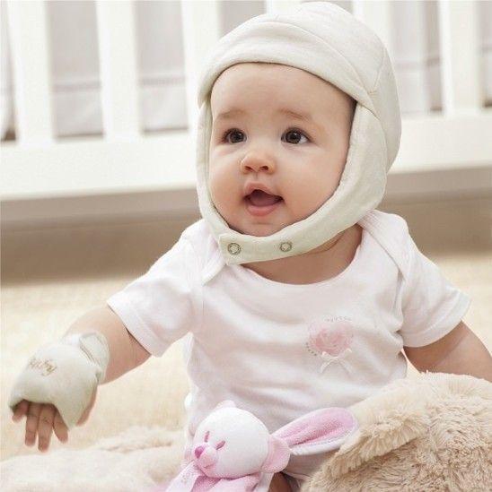 Touca em Malha Infantil Branca - Zip Toys