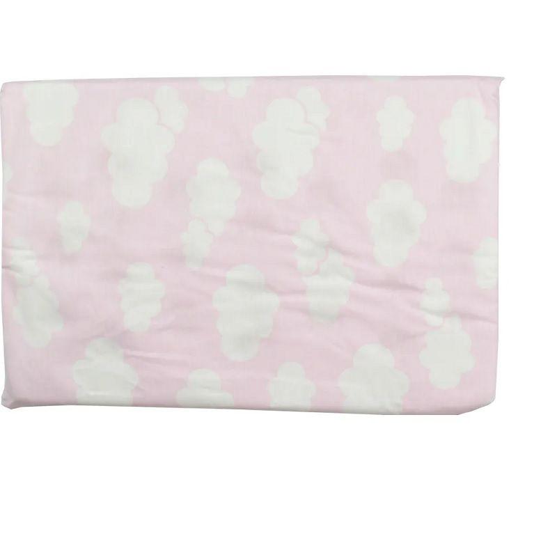 Travesseiro Alvinha Antissufocante Nuvem Rosa - Minasrey
