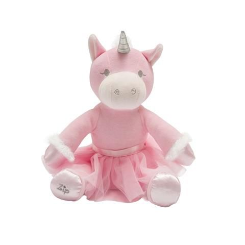 Unicórnio Rosa Bebê - Zip Toys