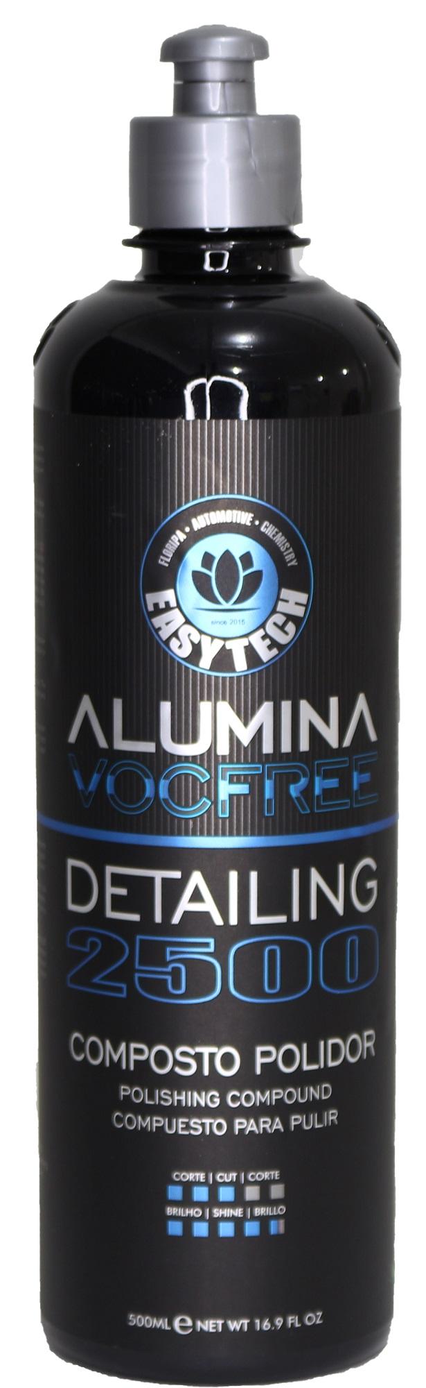 Alumina Detailing 2500  Composto Polidor de Refino 500ML