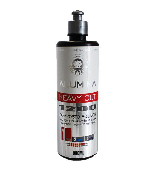 Alumina Heavy Cut 1200 – Composto Polidor de Corte Pesado 500ML