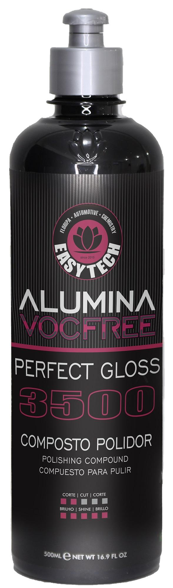 Alumina Perfect Gloss 3500  Composto Polidor de Lustro 500ML