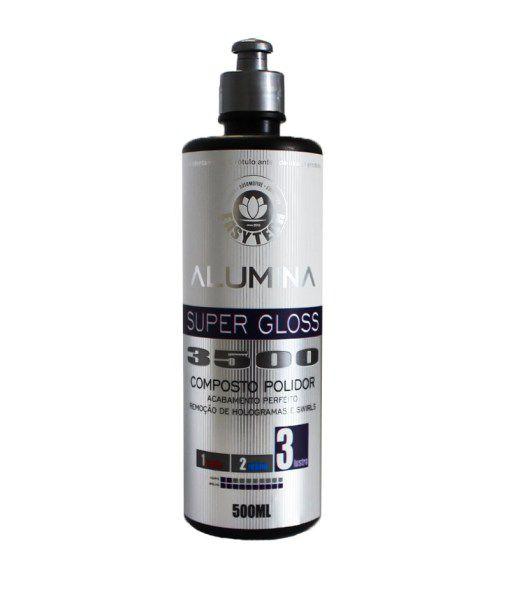 Alumina Super Gloss 3500 – Composto Polidor de Lustro 500ML