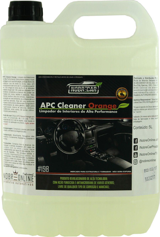 APC Cleaner Orange 5L - Nobre Car