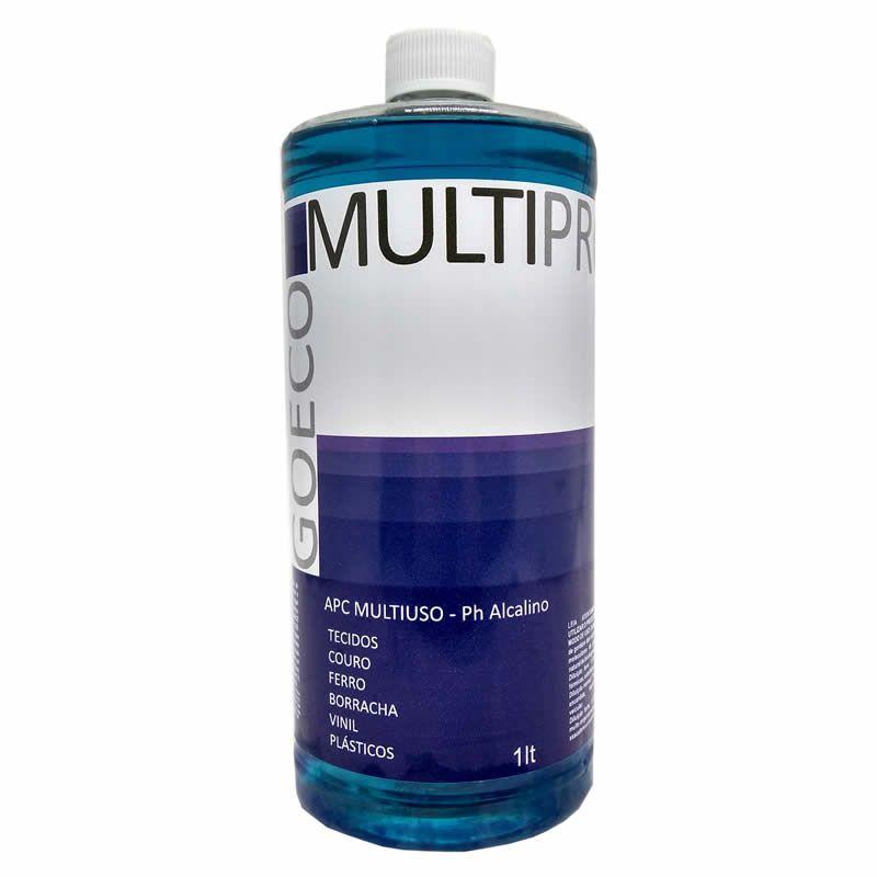 APC Multipro Blue Limpador Multiuso Alcalino 1L - Go Eco Wash