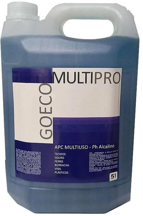APC Multipro Blue Limpador Multiuso Alcalino 5L - Go Eco Wash