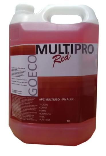 APC Multipro Red Limpador Multiuso Ácido 5L - Go Eco Wash