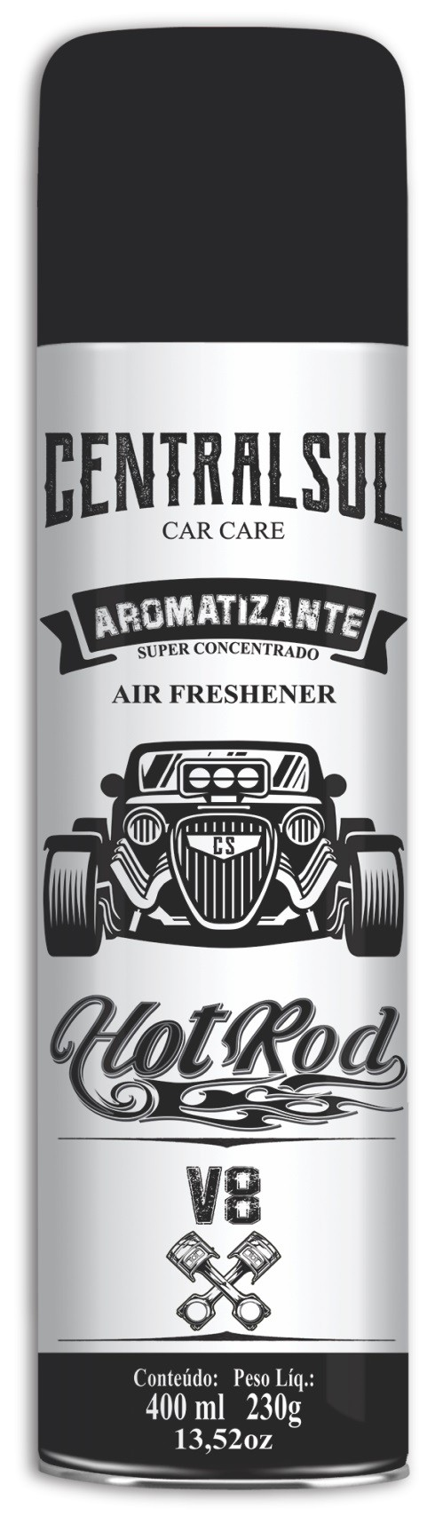Aromatizante Hot Rot V8 Spray 400ML
